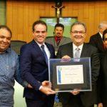 Pastor Samuel Câmara é homenageado.