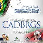 1ª Assembleia Convencional da CADBRGS